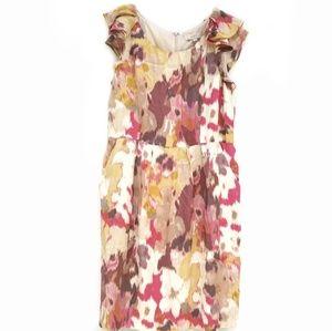 NEW Loft Sheath Flutter Sleeve Dress